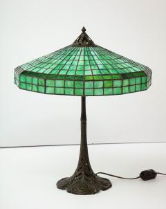 Handel Co Fine Handel Peacock Feather Lamp with a Geometric Shape - 1773142