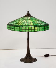 Handel Co Fine Handel Peacock Feather Lamp with a Geometric Shape - 1775266