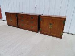 Henredon Furniture 3 Outstanding Henredon Campaign Chest Cabinet Credenza Mid Century Modern - 1708783