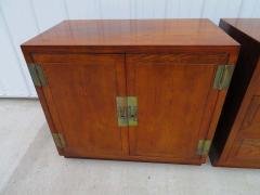Henredon Furniture 3 Outstanding Henredon Campaign Chest Cabinet Credenza Mid Century Modern - 1708790