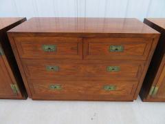 Henredon Furniture 3 Outstanding Henredon Campaign Chest Cabinet Credenza Mid Century Modern - 1708796
