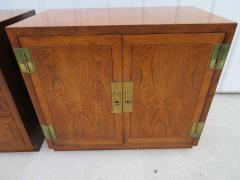 Henredon Furniture 3 Outstanding Henredon Campaign Chest Cabinet Credenza Mid Century Modern - 1708798