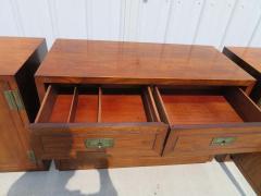 Henredon Furniture 3 Outstanding Henredon Campaign Chest Cabinet Credenza Mid Century Modern - 1708827