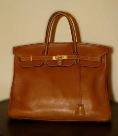 Herm s Herm s Birkin Bag 40 from Herm s Staff - 873836