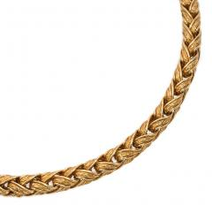 Herm s Herm s Estate Woven Gold Necklace - 1601840