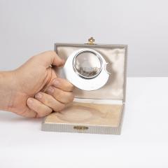 Herm s Herm s Paris Desk magnifier depicting a fish 1970s - 1563455