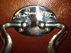 Herm s Hermes Mens Leather Deco Travel Case - 80044