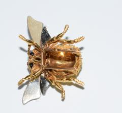 Herm s Hermes Paris Honey Bee Brooch - 773785