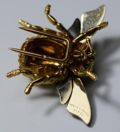 Herm s Hermes Paris Honey Bee Brooch - 773788