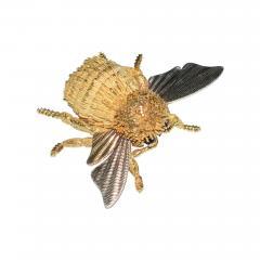 Herm s Hermes Paris Honey Bee Brooch - 794920