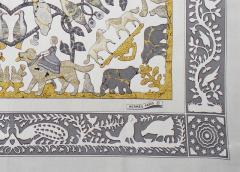 Herm s Silk Scarf Early America  - 1229507