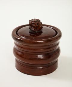 Herm s Vintage Hermes Ceramic Tobacco Jar - 1284047