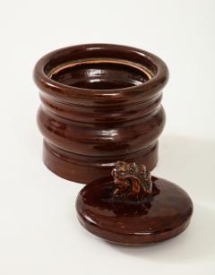 Herm s Vintage Hermes Ceramic Tobacco Jar - 1284054