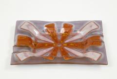 Higgins Glass Studio Higgins Art Glass Vide Poche Tray - 1923949