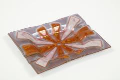 Higgins Glass Studio Higgins Art Glass Vide Poche Tray - 1923950