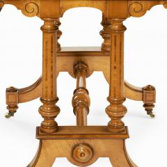 Holland Sons A Victorian writing table attributed to Holland and Sons - 977832