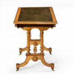 Holland Sons A Victorian writing table attributed to Holland and Sons - 977834