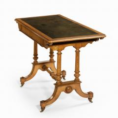 Holland Sons A Victorian writing table attributed to Holland and Sons - 977835