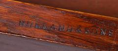 Holland Sons Fine Mid 19th Century Figured Oak Partners Desk by Holland and Sons - 1005862