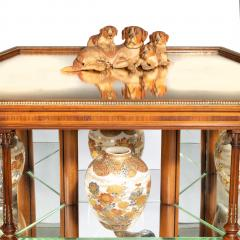 Holland Sons Hexagonal display table attributed to Holland and Sons - 897625