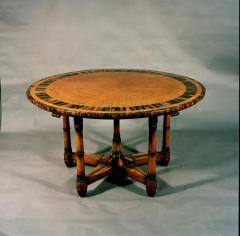 Holland Sons Rare and Important Pure Regency Period Amboyn Library Centre Center Table - 1220771