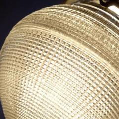 Holophane 1920s Acorn Prismatic Sconces - 482107