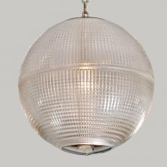 Holophane 1960s US Holophane ball ceiling pendant - 1096175