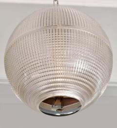Holophane 1960s US Holophane ball ceiling pendant - 1096176