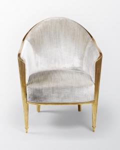 ILIAD Bespoke Art Deco Inspired Armchair after Leleu - 499465