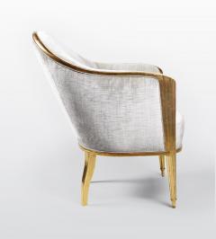 ILIAD Bespoke Art Deco Inspired Armchair after Leleu - 499467