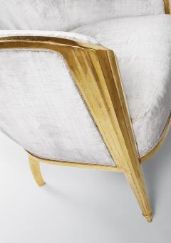 ILIAD Bespoke Art Deco Inspired Armchair after Leleu - 499468