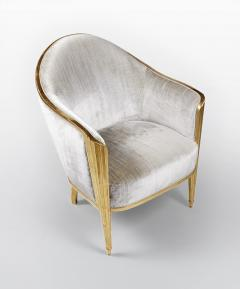 ILIAD Bespoke Art Deco Inspired Armchair after Leleu - 499471