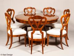 ILIAD Bespoke Biedermeier Inspired Extendable Dining Table - 524007