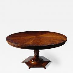 ILIAD Bespoke Biedermeier Inspired Pedestal Table - 485240