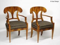 ILIAD Bespoke Biedermeier style Armchairs - 481829