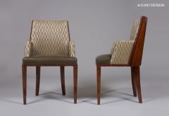 ILIAD Bespoke French Modernist Inspired Armchairs - 503272