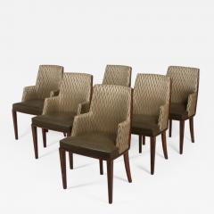 ILIAD Bespoke French Modernist Inspired Armchairs - 505027
