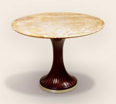 ILIAD Bespoke Italian Modernist inspired Pedestal Table - 481841