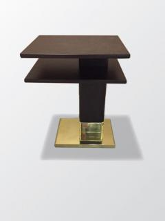ILIAD Bespoke Pair of Art Deco inspired End Tables - 508505