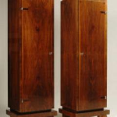 ILIAD Bespoke Pair of Bauhaus Inspired Pedestal Cabinets by ILIAD Design - 544654