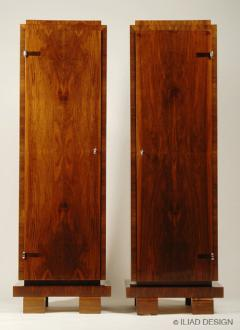 ILIAD Bespoke Pair of Bauhaus Inspired Pedestal Cabinets by ILIAD Design - 544655