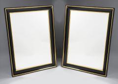 ILIAD Bespoke Pair of Biedermeier Style Mirrors - 499397