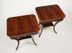 ILIAD Bespoke Pair of Biedermeier Style Side Tables - 500208