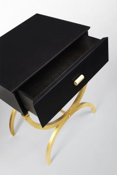 ILIAD Bespoke Pair of Modernist End Tables inspired by Maison Ramsay - 508473