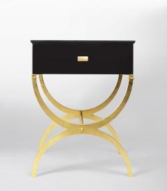ILIAD Bespoke Pair of Modernist End Tables inspired by Maison Ramsay - 508476