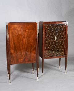 ILIAD DESIGN A Pair of Art Deco Style Fireside Cabinets by ILIAD Design - 1915584