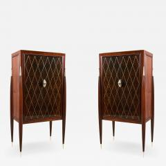 ILIAD DESIGN A Pair of Art Deco Style Fireside Cabinets by ILIAD Design - 1919725