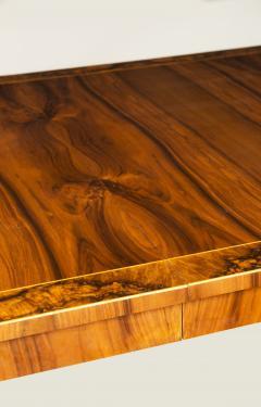 ILIAD DESIGN Biedermeier Inspired Double Pedestal Extendable Dining Table by ILIAD Design - 635203