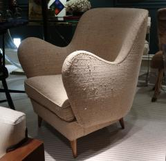 ISA A pair of armchairs by ISA Italy 50 - 763802