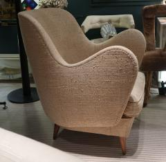 ISA A pair of armchairs by ISA Italy 50 - 763809